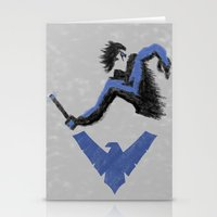 nightwing Stationery Cards featuring Nightwing by dudesweet