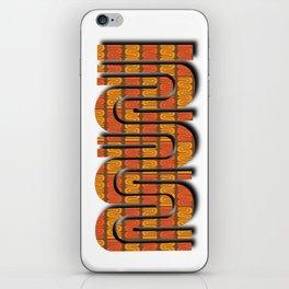 SF Muni selfie iPhone Skin