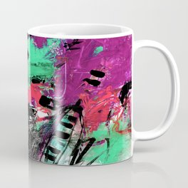 Jazzy Emotions No.1L by Kathy Morton Stanion Coffee Mug