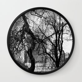 Into the trees 09 Wall Clock