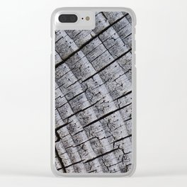 Touch Wood Clear iPhone Case