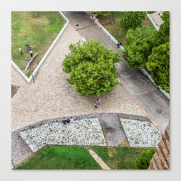 View from the White Tower of Thessaloniki Canvas Print