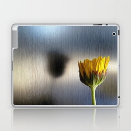 yellow flower Laptop & iPad Skin