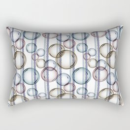 Bubbles 2 Rectangular Pillow