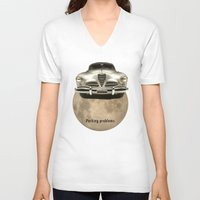 hocus pocus V-neck T-shirts featuring Hocus-pocus by Design4u Studio