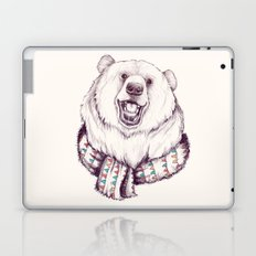 Bear & Scarf Laptop & iPad Skin