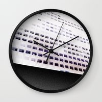 building Wall Clocks featuring Building by ONEDAY+GRAPHIC