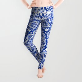 Blue Radiance Leggings
