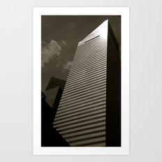 Tetris Art Print