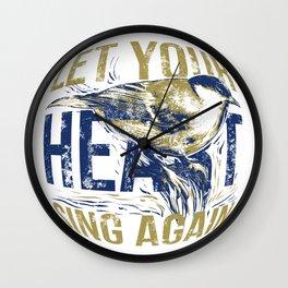 Sing again Wall Clock
