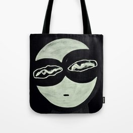 ONO FACE BLACK BACKGROUND Tote Bag