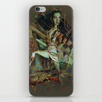 nurse iPhone & iPod Skins featuring Brookhaven Nurse by Apricot Mantle