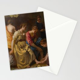 "Johannes Vermeer ""Diana and her Companions"" Stationery Cards"