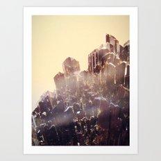 Space Crystal  Art Print