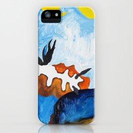 Orange Nudibranch iPhone Case