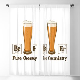 Pure Chemistry Blackout Curtain