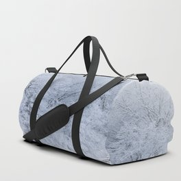 First Snow Fall Fresh Snow on Trees Nature Photography ~ Winter Hush Duffle Bag