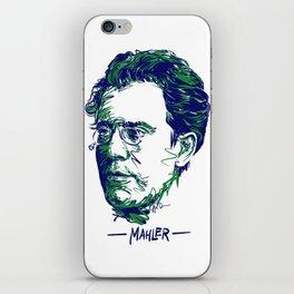 Gustav Mahler iPhone Skin