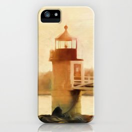 A Day In Maine iPhone Case