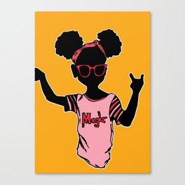 Black Girl Magic Canvas Print
