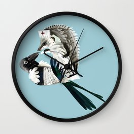 Thank for your help (GREFA) Wall Clock