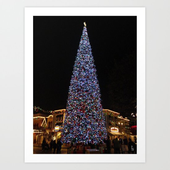 May Your Holidays Be Bright! Art Print