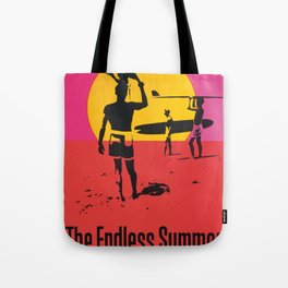 California Summer Surf from The Endless Waves Tote Bag