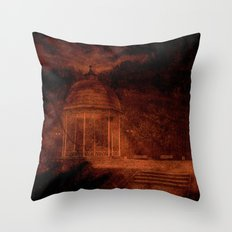 Hold back the nightmare... Throw Pillow