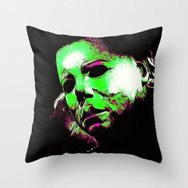 The Boogeyman Cometh Throw Pillow
