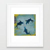 koi Framed Art Prints featuring Koi  by Saundra Myles