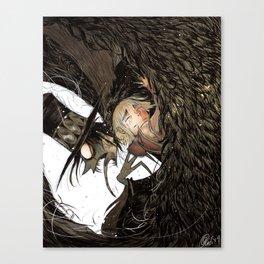 The Vulture Sorcerer Canvas Print