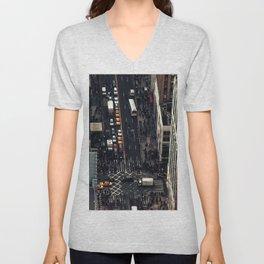 New York City view Unisex V-Neck