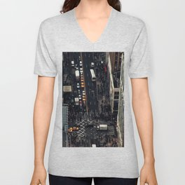 New York City view Unisex V-Neck