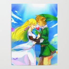 Zelda in love Poster