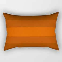 Sienna Spiced Orange - Color Therapy Rectangular Pillow