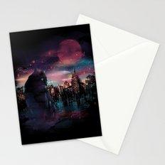 Black Cat Big City Stationery Cards
