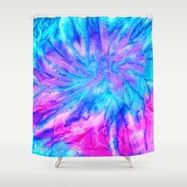 Tie Dye 020 Shower Curtain