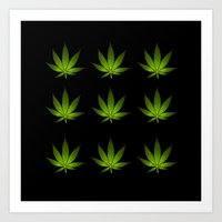 weed Art Prints featuring Weed by Spyck