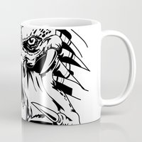 predator Mugs featuring Predator by P2theK
