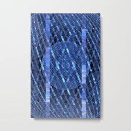 Data Net Metal Print