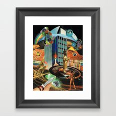 Mothers Of The Sun (Collaboration with my friend Malomar) Framed Art Print