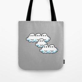 Super Mario Clouds Tote Bag