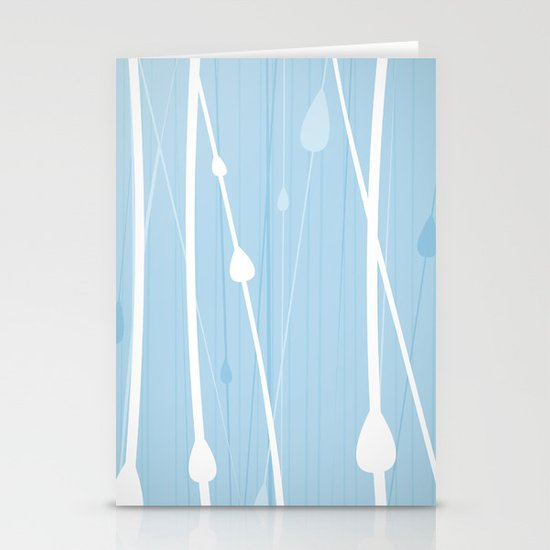 Rain Water by Friztin Stationery Cards