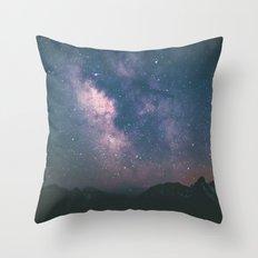 Milky Way III Throw Pillow