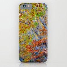 Deep forest. Autumn. iPhone 6s Slim Case