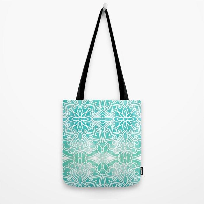 Water Mandala Tote Bag