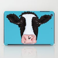 cow iPad Cases featuring Cow by Compassion Collective