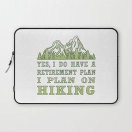 Plan on hiking Laptop Sleeve