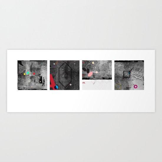 Invisible storm Art Print