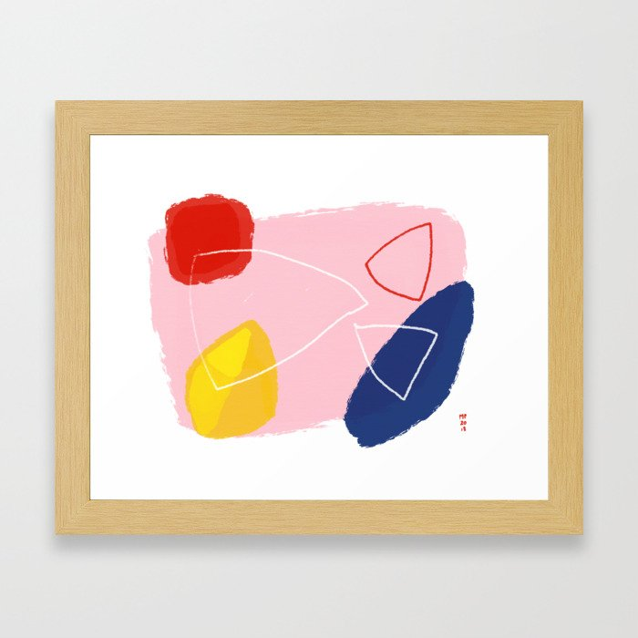Holo Framed Art Print
